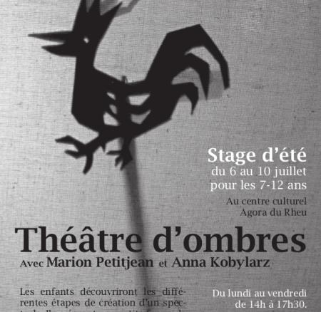 Stage d'été enfants : Théâtre d'ombres