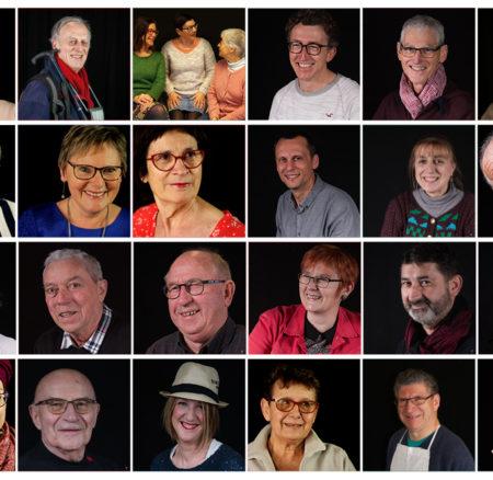 Exposition Portraits des Bénévoles