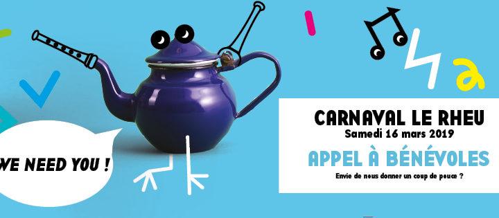 Carnaval appel à bénévoles
