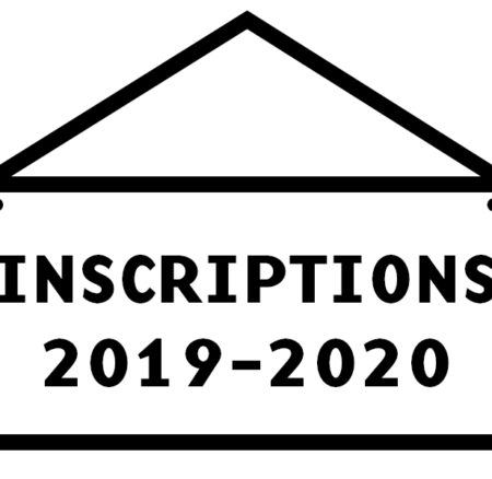 Info inscriptions 2019/2020