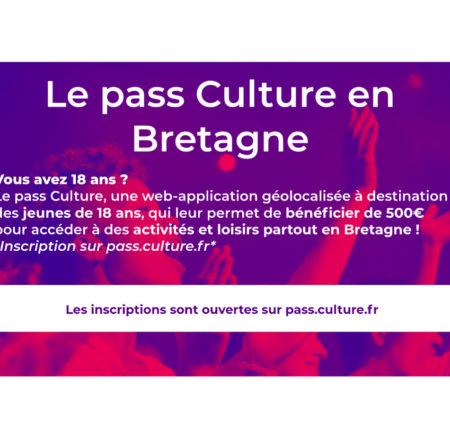 Pass Culture : élargissement à la Bretagne !