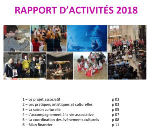 Rapport d'activités Agora 2018