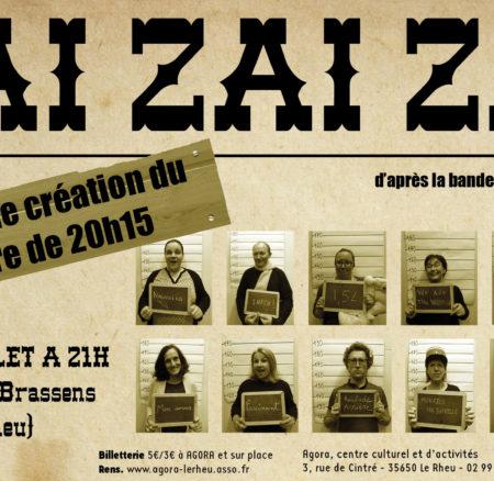 Zaï Zaï Zaï – Théâtre de 20h15