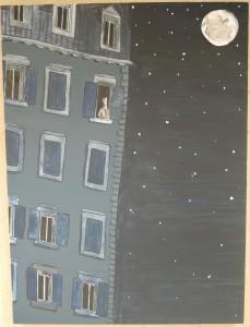 3ème Prix 12/14 :   Lil-Wenn ROUSSEL – « Un fumeur dans les étoiles » - (SAINT-MALO)